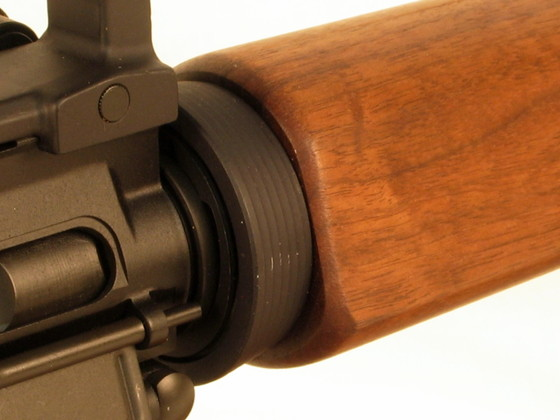 wood ar15 carbine hand guard