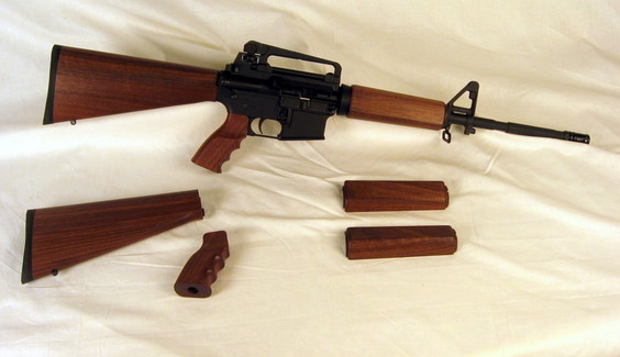 Wood AR15 Carbine Complete Set